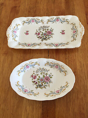 Vintage Royal Standard Mandarin Sandwich Plate And Oval Dish Excellent Condition • 17£