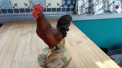 Border Fine Arts  Early Morning Call  Cockerel Rooster Figurine  • 9.99£