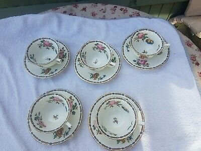 Aynsley 5 China Cup And Saucers • 9.99£