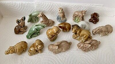 Collection Of 16x Vintage Wade Whimsies Miniature Animals • 5£