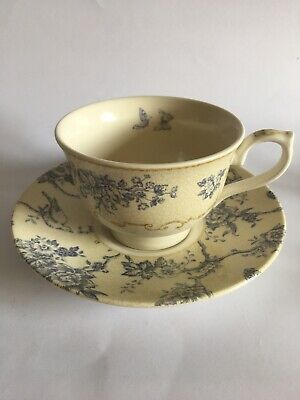 Queen's Historic Royal Palaces Tea Cup And Saucer Toile De Jouy England 19 • 9.90£