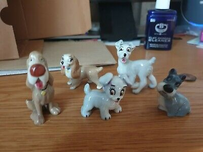 5 Wade Whimsies From Lady And The Tramp • 2.50£