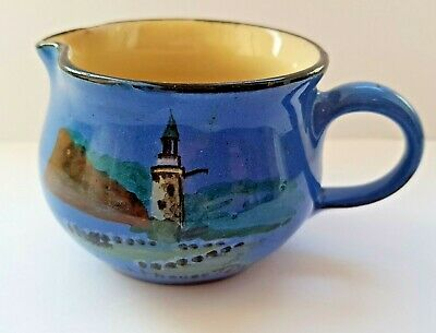 The Lighthouse Teignmouth Wesuma T W Lemon & Son Weston S Mare Art Pottery Jug  • 29.99£