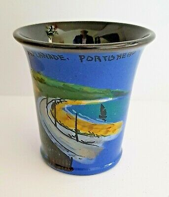Portishead The Esplanade Wesuma T W Lemon Weston Super Mare Art Pottery Vase  • 29.99£