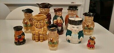 Vintage Selection Of Toby Jugs • 22£