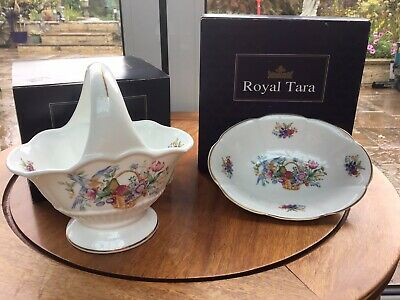 Two Royal Tara 'Symphony' Design Dishes - With Original Boxes. • 3£