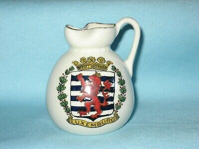 Savoy China Ewer* - WW1 LUXEMBOURG INVADED BY GERMANS 1914 • 5.99£