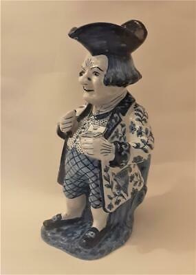 Antique Delft Toby Jug/pitcher The Snuff Taker • 4.99£