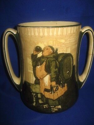 A Royal Doulton  Loving Cup Signed By Nok  • 42£