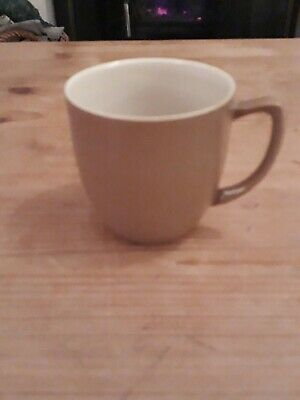 Branksome China Pottery - 7cm Brown Coffee Cup • 1£