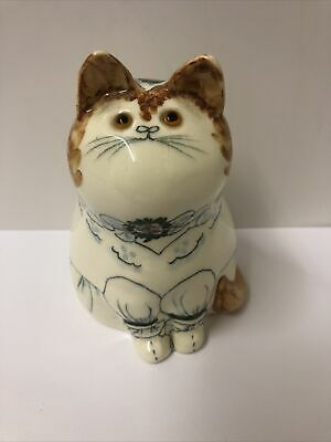 Cinque Ports Pottery The Monastery Rye 5 Inch/12.5 Cms Joan De Bethel Cat  • 125£