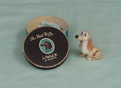 Wade Dachie Whimsies Disney Hat Box Series Figurine England Lady & The Tramp • 38.13£
