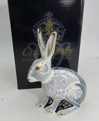 Royal Crown Derby STARLIGHT HARE Signed Guild Exclusive Boxed  • 125£