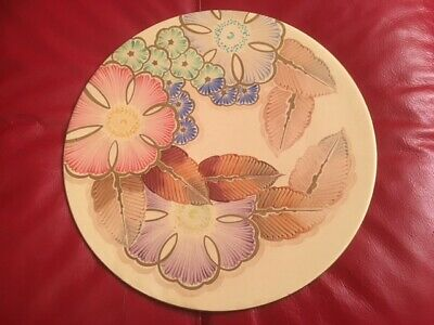 Grays Pottery 'Sunbuff' Charger Platter Hand Painted, Large • 89£