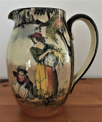 Royal Doulton Jug / Pitcher   The Gleaners  Early 20th Century • 7£