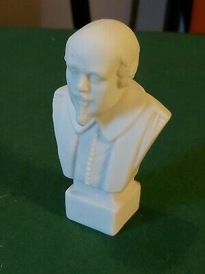 Antique Parian Bust Of Shakespeare - R & L - Robinson And Leadbeater  • 19.99£
