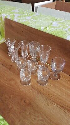 Georgian&Victorian Selection Of Drinking Glasses • 50£