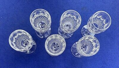 Waterford Colleen 6 Sherry Glasses • 65£