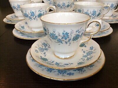 Colclough Braganza 21 Piece Teaset Excellent • 40£