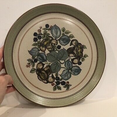 Purbeck Pottery Flower Plate Rare • 8.99£
