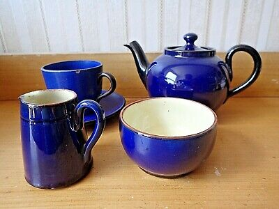 Vintage TEA SET TORQUAY WARE  WATCOMBE Devon 50's • 26£