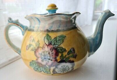 Vintage Arthur Wood Royal Bradwell Teapot With Beautifully Glazed Flower Pattern • 12.50£
