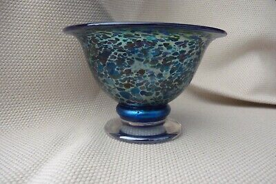 Isle Of Wight Footed Bowl In Original Box • 40£
