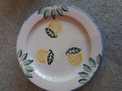 Poole Pottery Dorset Fruits - 4 Dinner Plates • 14.01£