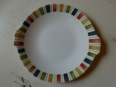 MIDWINTER 'MEXICANA'  BY JESSIE TAIT 1960s Ceramics: Bread And Butter/cake Plate • 5£
