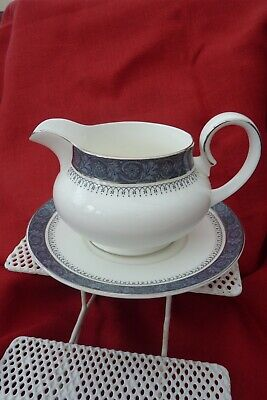 Royal Doulton  Sherbrooke  Gravy Jug And Saucer • 10£