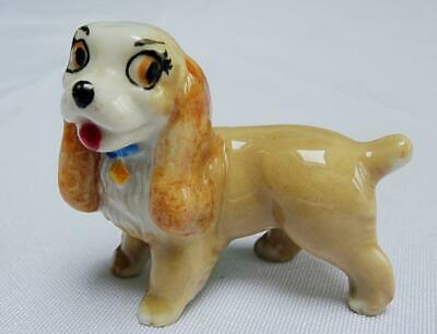 Wade Whimsies Lady Vintage Lady And The Tramp Disney Spaniel Dog Collectable • 6.99£