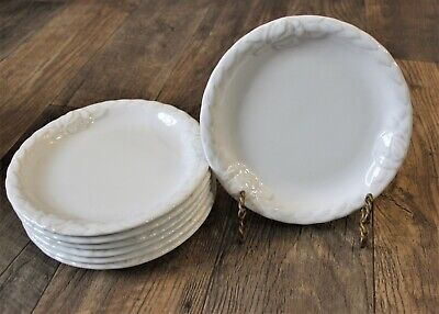 Christian Dior French Country Rose Oyster White 8  Luncheon Salad Plates • 30.93£