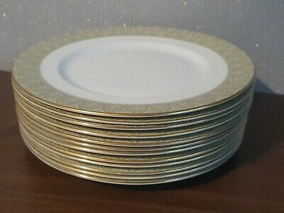 12 X Royal Doulton Sonnet Dinner Plates 27 Cm Wide Set • 10£