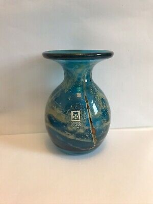 Beautiful Mdina  Glass Vase Signed • 25£