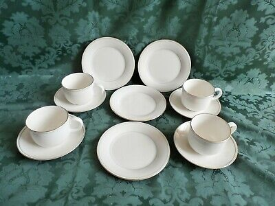 Marks Spencer, St Michael Lumiere China, 4 Cups, 4 Saucers And 4 Plates. • 11.99£