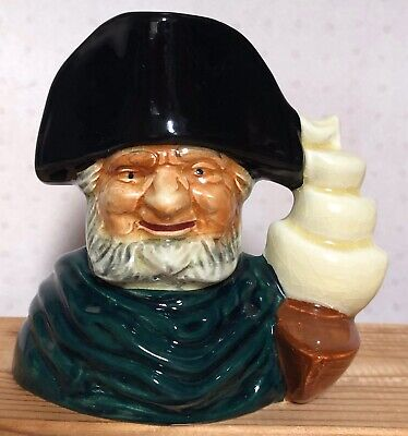 Vintage Shorter & Sons Toby / Character Jug  Captain Ahab  Hand Painted • 4.99£