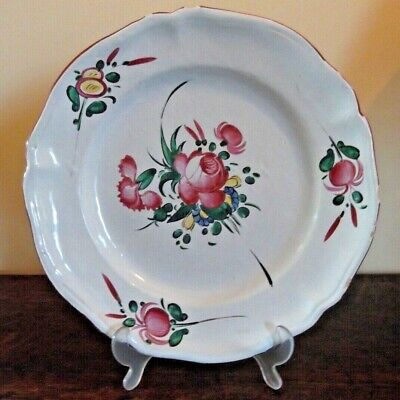 Lunerville French Faience Charger • 10£