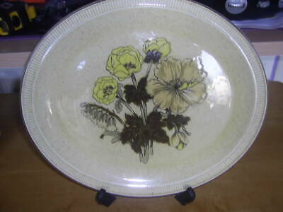 Poole Pottery   Silverwood   Carving Plate • 8.99£
