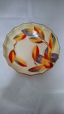 Gray's  Pottery Hand Painted Bowl 9  Diameter • 18£