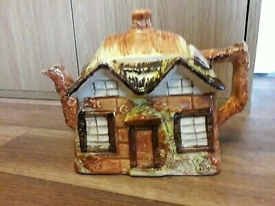 Vintage Price Brothers Ye Olde Cottage Ware Teapot, 1934-1961. • 7.95£
