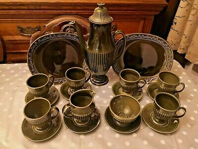 A Lovely Vintage  Mid 20th  Century Carlton Ware Coffee Set • 38£