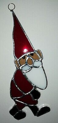Stained Glass Santa • 19.99£