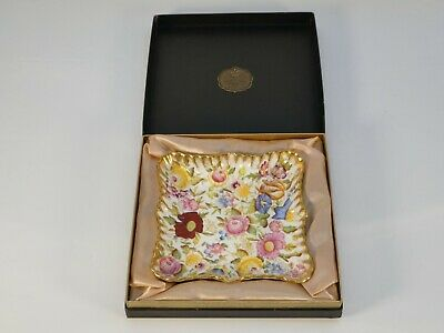 Hammersley Bone China Queen Anne Square Dish Boxed • 85£
