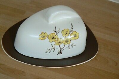 Carlton Ware Mimosa Lidded Butter / Cheese Dish 1950s  • 3.50£