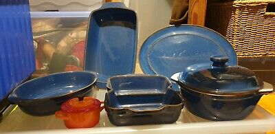 Demby Imperial Blue Serving Stoneware  • 40£