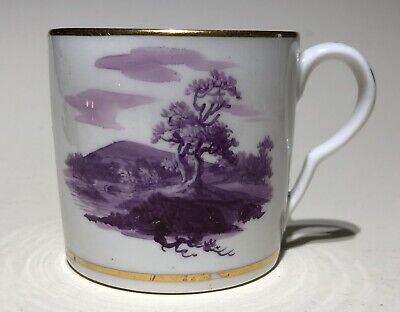 Pinxton C1808 Painted By John Cutts Coffee Can • 90£