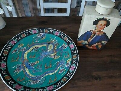 Japanese Plate And Vase • 3.74£