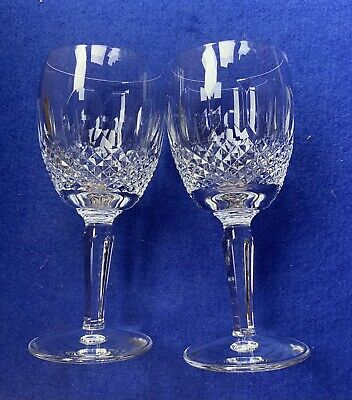 2 Waterford Colleen Long Stemed Water Goblets • 99£