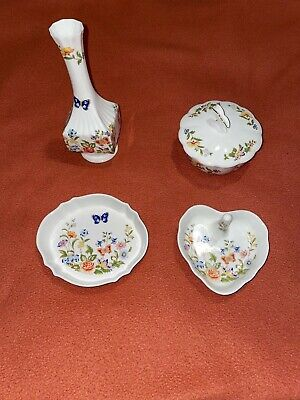 Aynsley Cottage Garden 4 Pieces - Excellent Condition • 12.99£