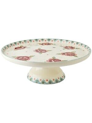 Emma Bridgewater Rose And Bee Cake Stand - Perfect Condition! • 39.99£
